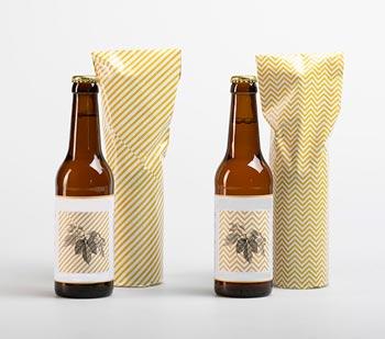Пиво в полиэтиленовом пакете