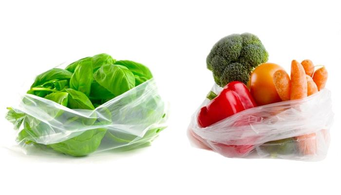 Полиэтиленовые пакеты для продуктов, фото