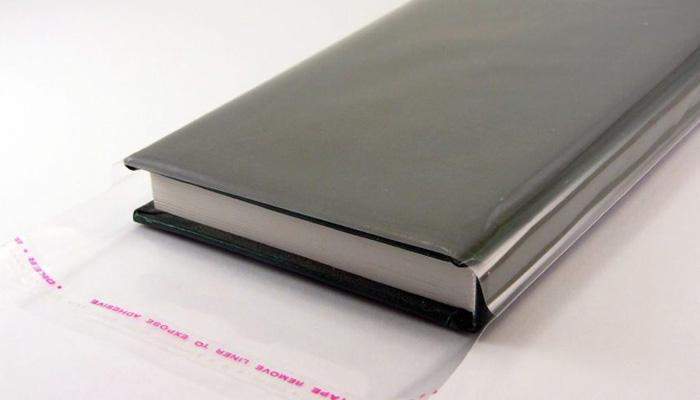 Полипропиленовый пакет с клейкой лентой фото