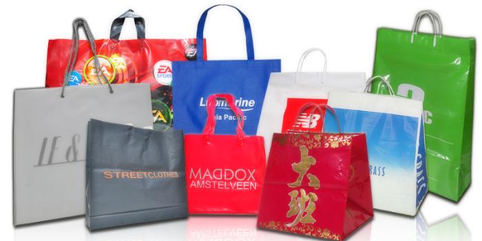 Полиэтиленовые пакеты с логотипом фото