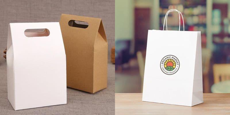 Виды бумажных пакетов - фото